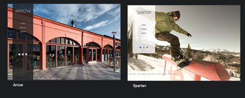 customise photo website template
